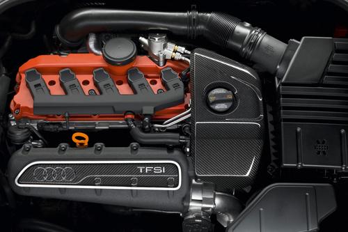 Der Fünfzylinder im Audi TT RS