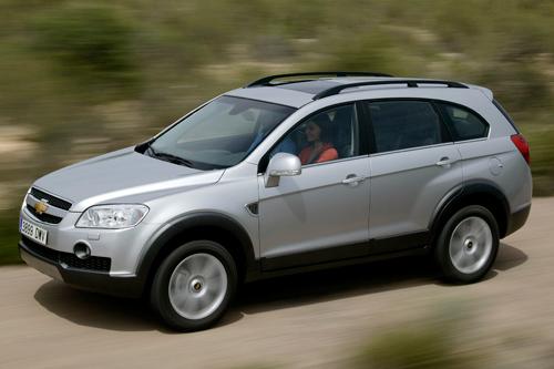 Der Chevrolet Captiva bietet Platz für bis zu sieben Personen
