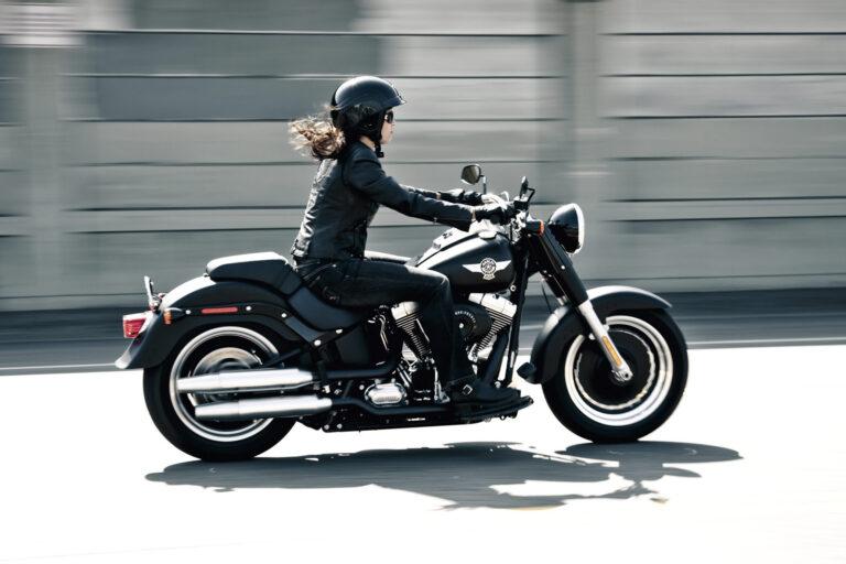 Harley-Davidson Fat Boy: Cool zur Eisdiele