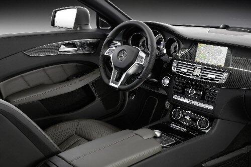 Der Innenraum des neuen Mercedes CLS