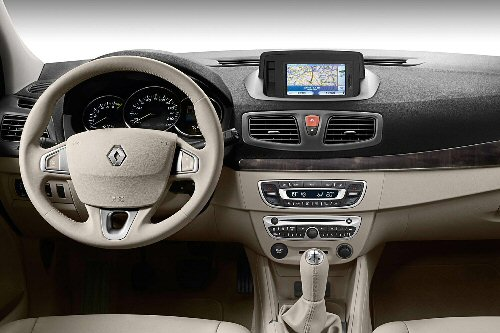 Der Innenraum des Renault Fluence
