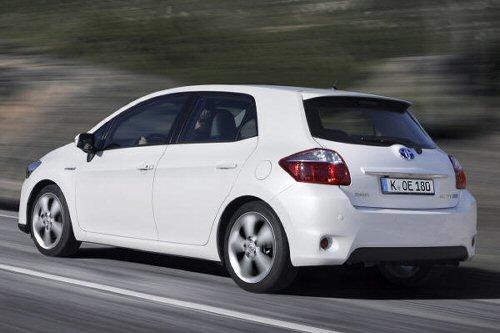 Toyota führt die Reihe der japanischen Hersteller an
