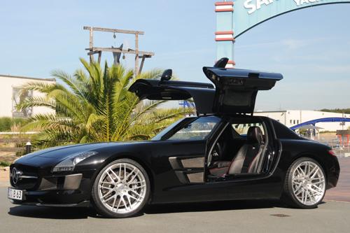 Ein von Brabus veredelter Mercedes SLS AMG