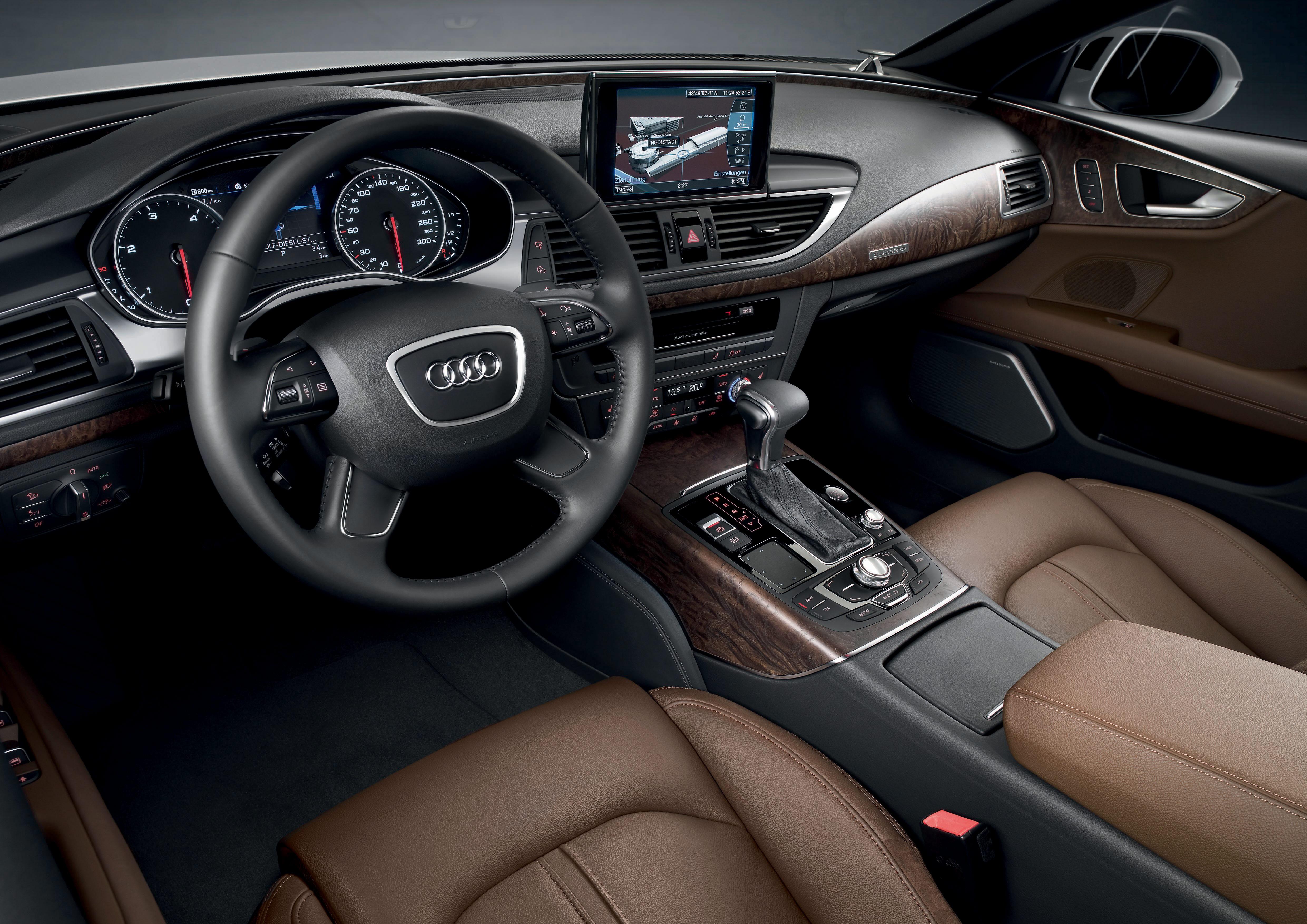 Das Cockpit des Audi A7 Sportback