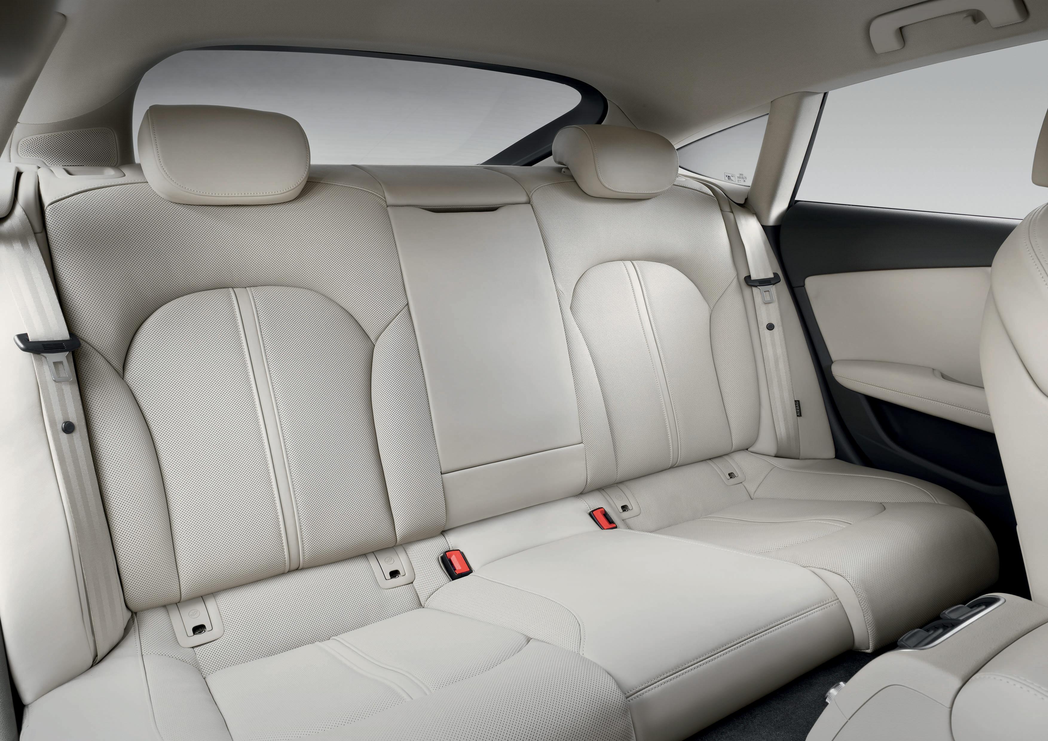 Der Fond im Audi A7 Sportback