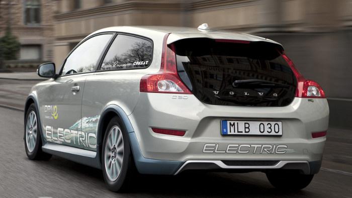 Schneller laden beim Volvo C30 Electric