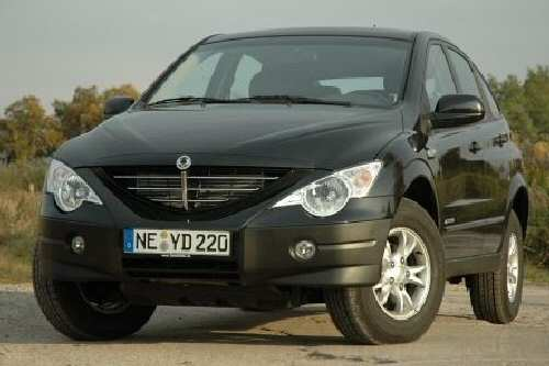 SsangYong Actyon: Einfach anders