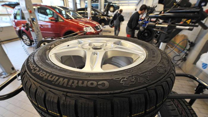 Simulator für leisere Reifen
