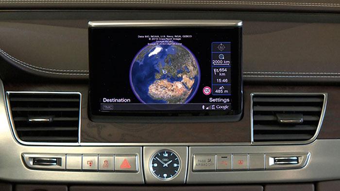Audi stellt «vernetztes Auto» vor