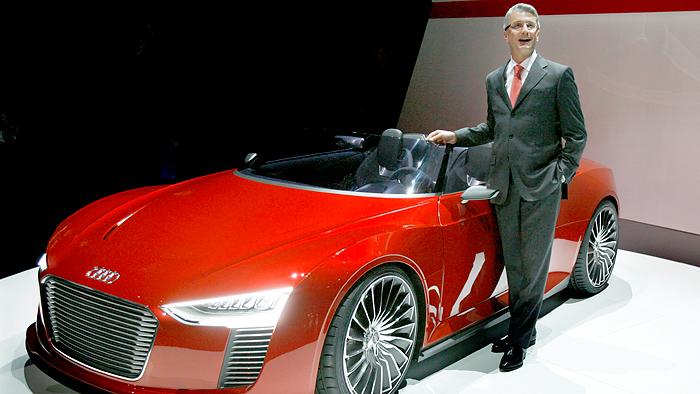 Audi steigert Absatz um rund 15 Prozent
