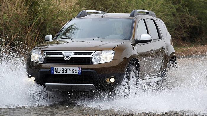 Dacia Duster dCi 110 4×4: Günstigste Fahrt ins Gelände