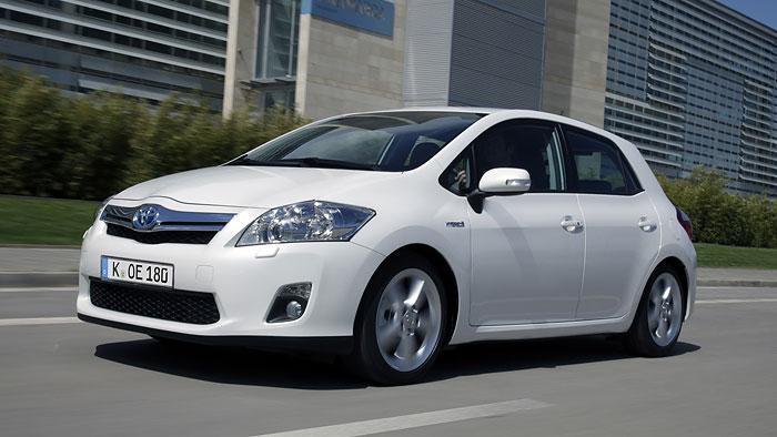 Toyota Auris Hybrid erstes «Auto der Zukunft»