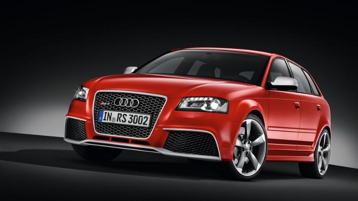 Audi RS3 komplettiert A3-Baureihe