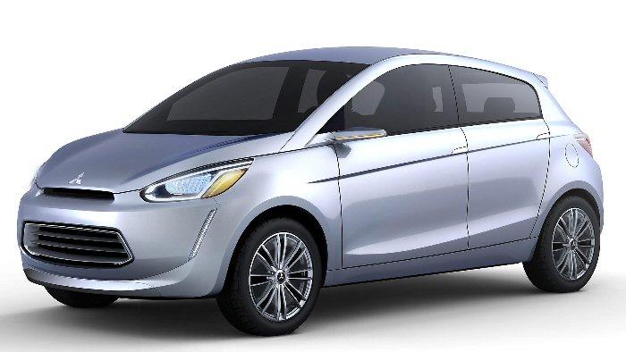 Mitsubishi präsentiert Kleinwagen-Studie