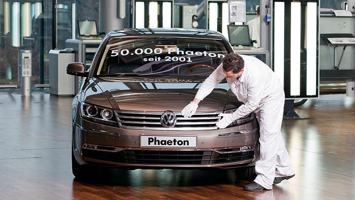Späte Begehrlichkeiten nach dem VW Phaeton