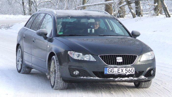 Welp Seat Exeo ST: Der Kombi startet durch - Autogazette.de GP-25