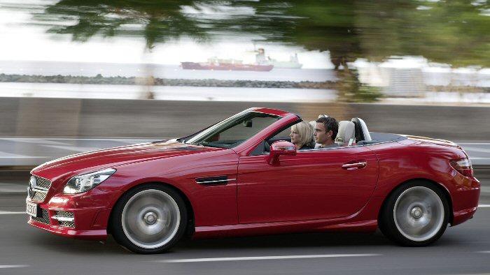 Mercedes SLK: Unterwegs in einer anderen Liga