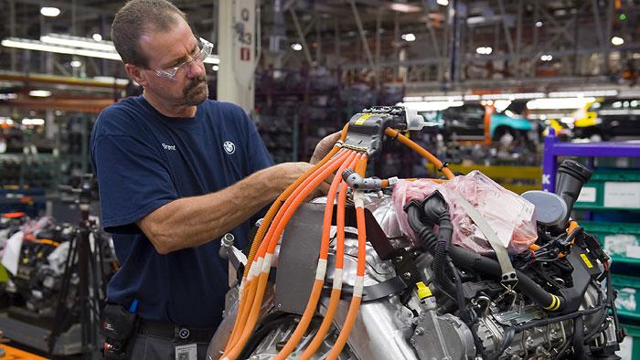 BMW-Werk Spartanburg profitiert vom SUV-Boom