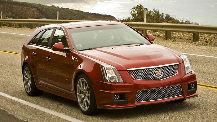 Cadillac CTS-V Wagon: Griff nach den Sternen