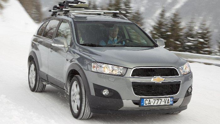 Chevrolet Captiva Aufgehbscht Ins Familienduell Autogazette
