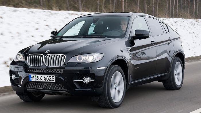 Fünf Sitze für den BMW X6
