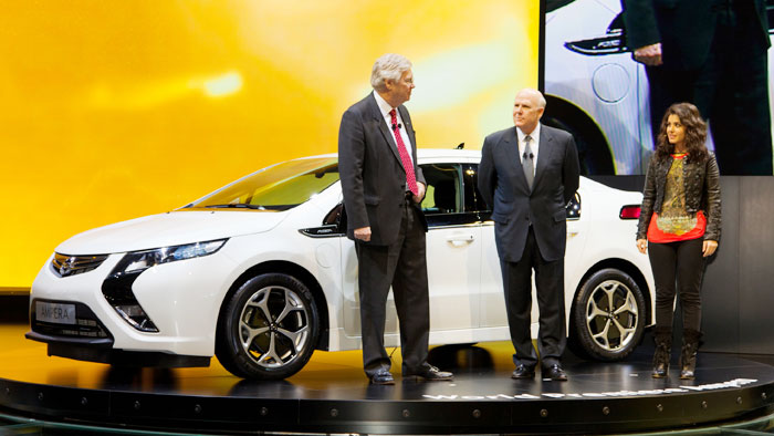Lebenslange Garantie für Elektroauto Opel Ampera