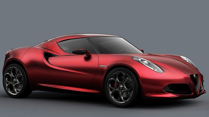 """Alfa Romeo baut Einstiegssportwagen """"4C"""""""