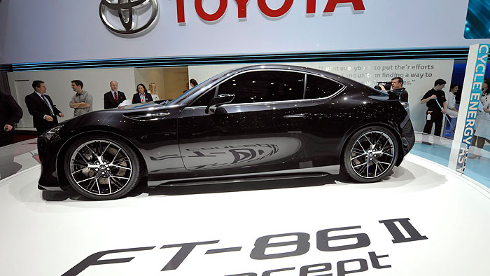 Toyota FT-86 erhält Motor von Subaru