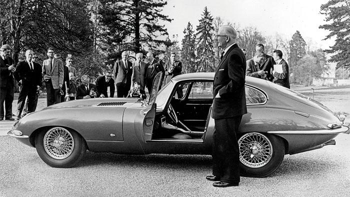 Ausblick auf Jaguar E-Type-Erben
