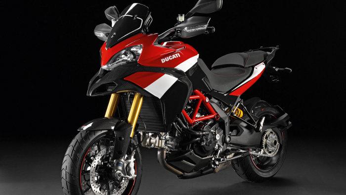 Sondermodell von der Ducati 1200 Multistrada S
