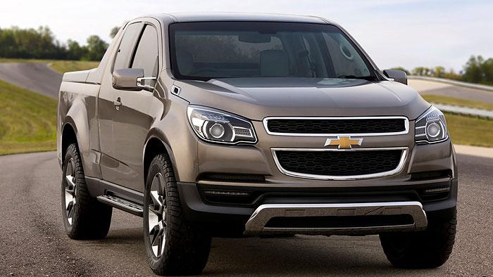 Chevrolet zeigt neuen Pickup Colorado