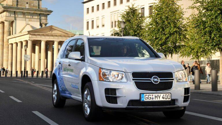Opel Hydrogen4: Der Stoff, aus dem die Träume sind