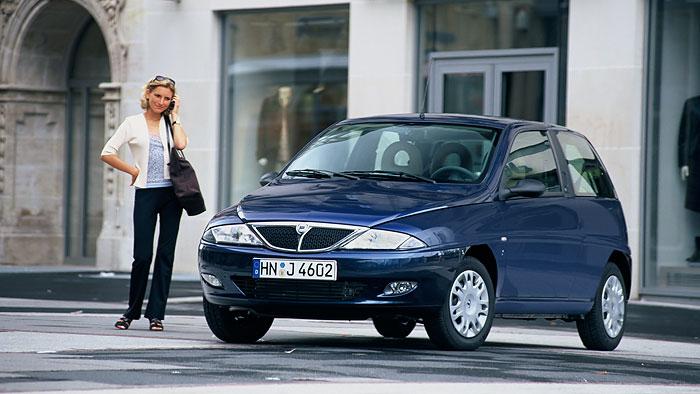 Lancia Y: In vielen Fällen ungewöhnlich