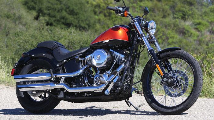 Harley-Davidson Softail Blackline: Chopper für Puristen