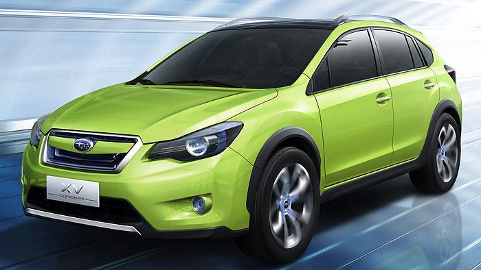 Subaru XV Concept: Macho im Anzug