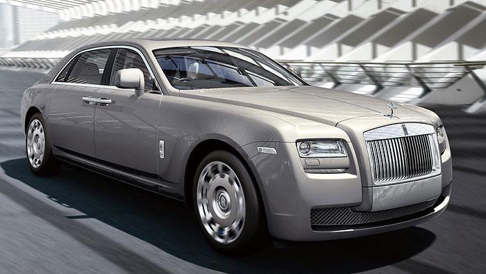 Rolls-Royce streckt den Ghost für China