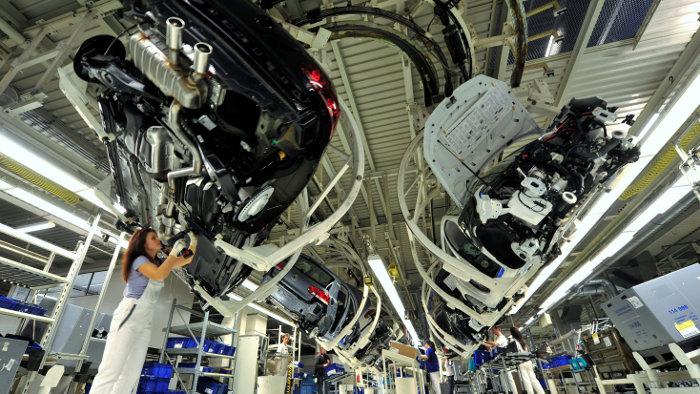 Stromausfall: Bei VW standen die Bänder still