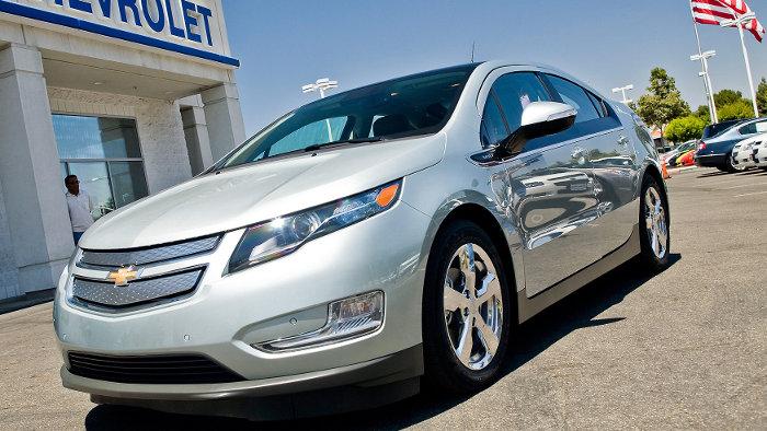 Chevrolet Volt besteht Crashtest mit Bestnote