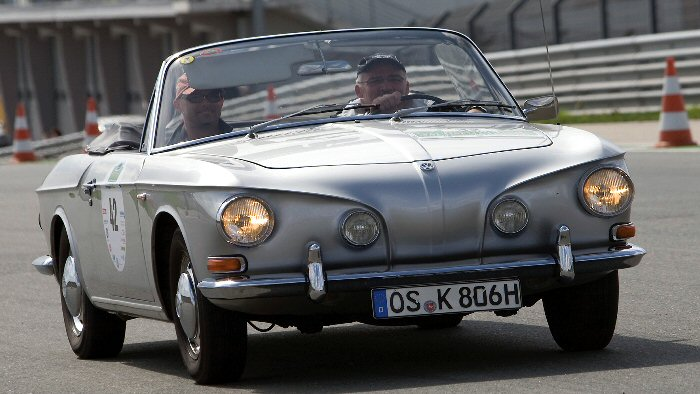 Geburtstag eines Kultautos: Der Große Karmann wird 50