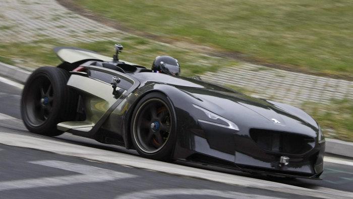 Elektro-Roadster Peugeot EX1 mit Rekord auf Nürburgring