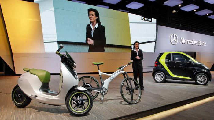 Smart steigt mit E-Bike ins Fahrradgeschäft ein