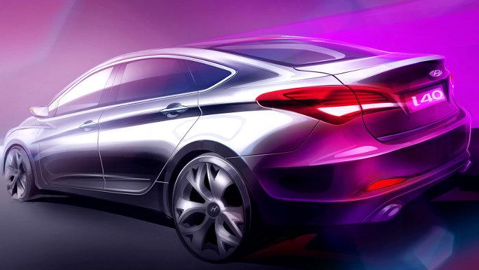 Hyundai i40 wird auf Motorshow Barcelona präsentiert
