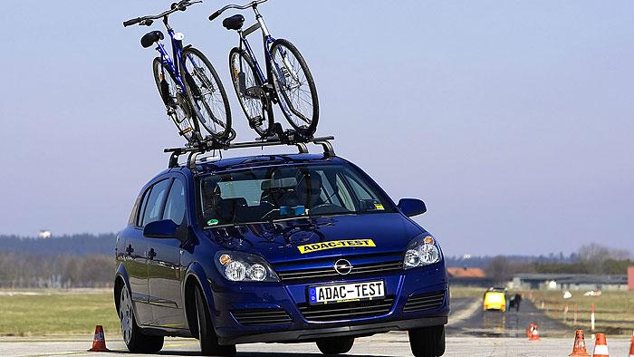 Fahrradträger auf Dach: 41 Prozent höherer Verbrauch
