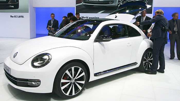 VW Beetle geht in den Vorverkauf