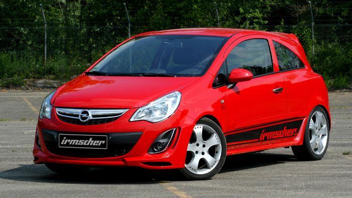 Mehr Dynamik für Opel Corsa von Irmscher