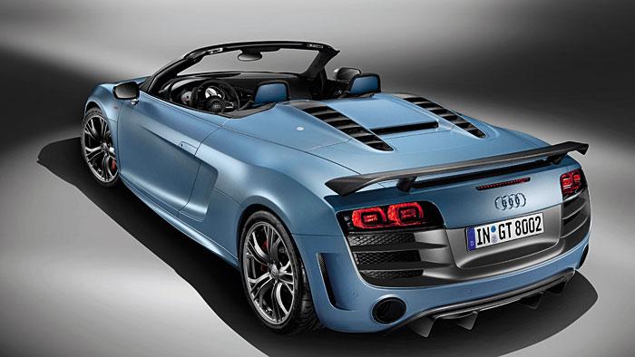 Audi R8 Spyder GT: Rennwagen für die Straße
