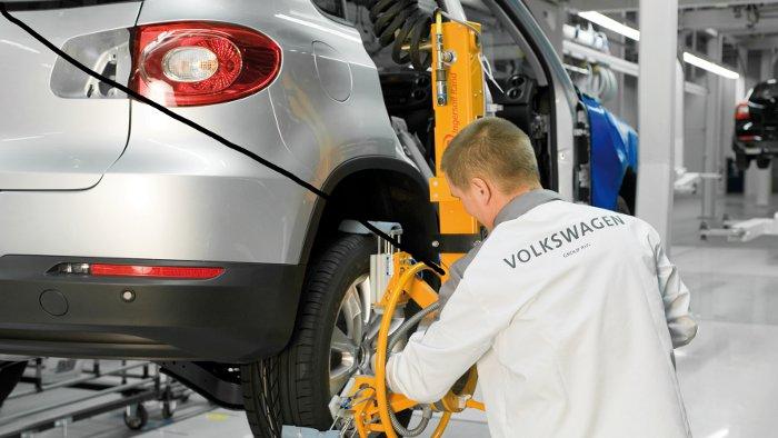 VW drosselt Produktion in Russland