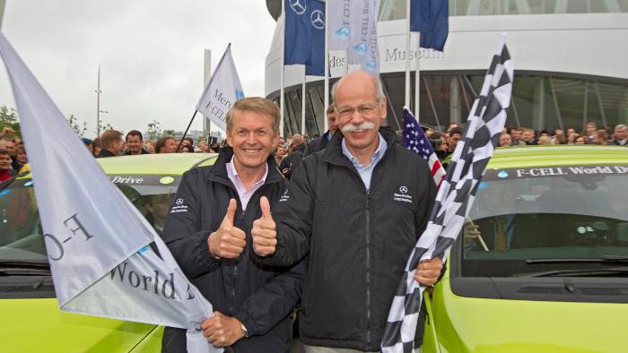Daimler und Linde bauen 20 Wasserstoff-Tankstellen