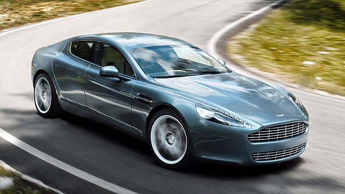 Aston Martin baut Rapide in England