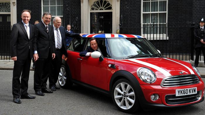BMW investiert 500 Millionen Pfund in Großbritannien